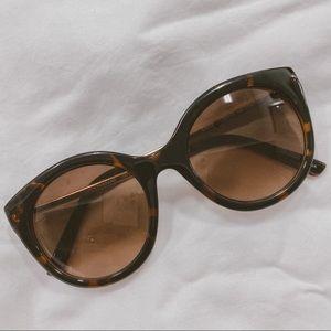 Lucky Brand cayucos retro tortoise sunglasses
